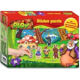 Plop Puzzle et stickers - 35 pièces