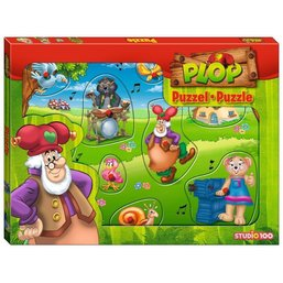 Puzzle Plop en bois
