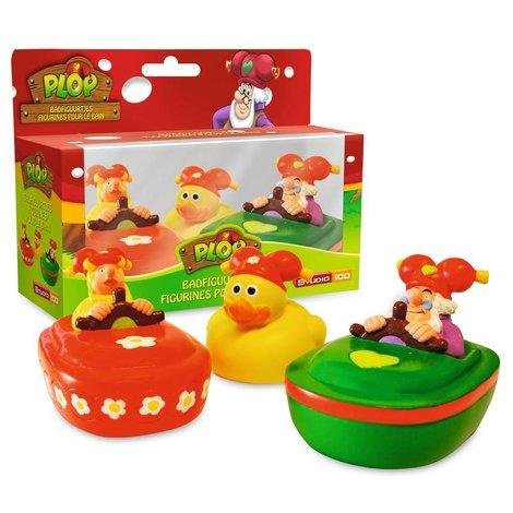 3 figurines pour le bain Plop