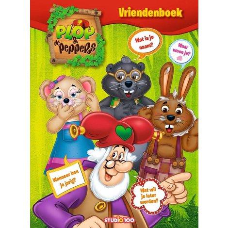 Plop en de Peppers Vriendenboek
