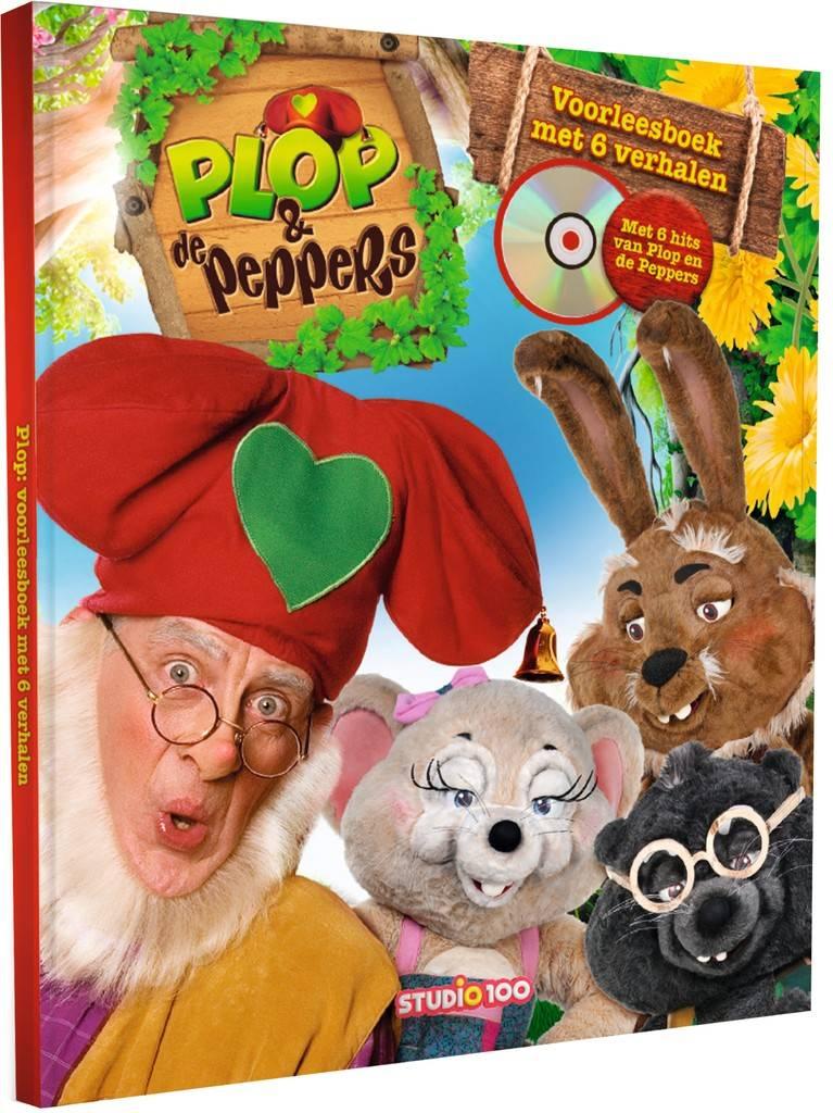 Kabouter Plop Boek - Verhalenboek met CD