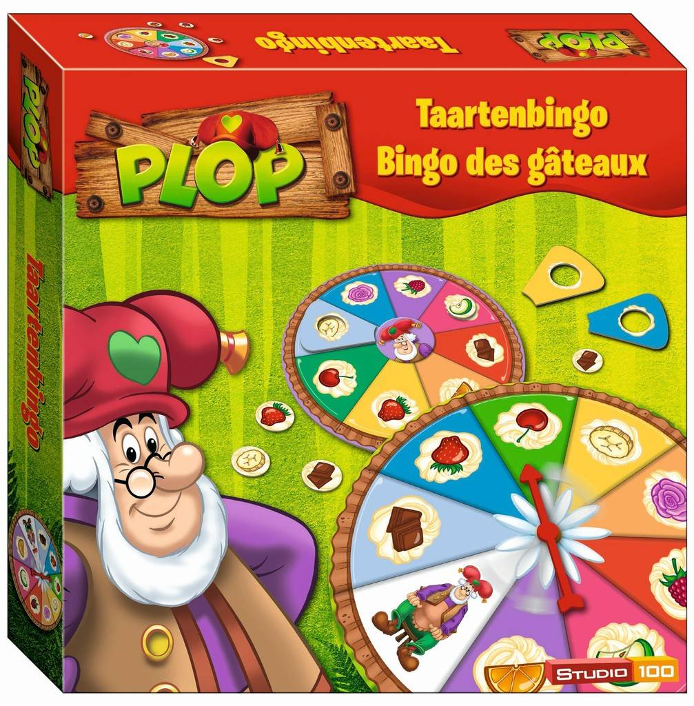 Jeu Plop - Bingo des gâteaux