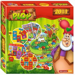 Spel 20 in 1 Plop: o.a. domino/lotto