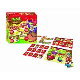 Plop Boîte de jeux 4 en 1