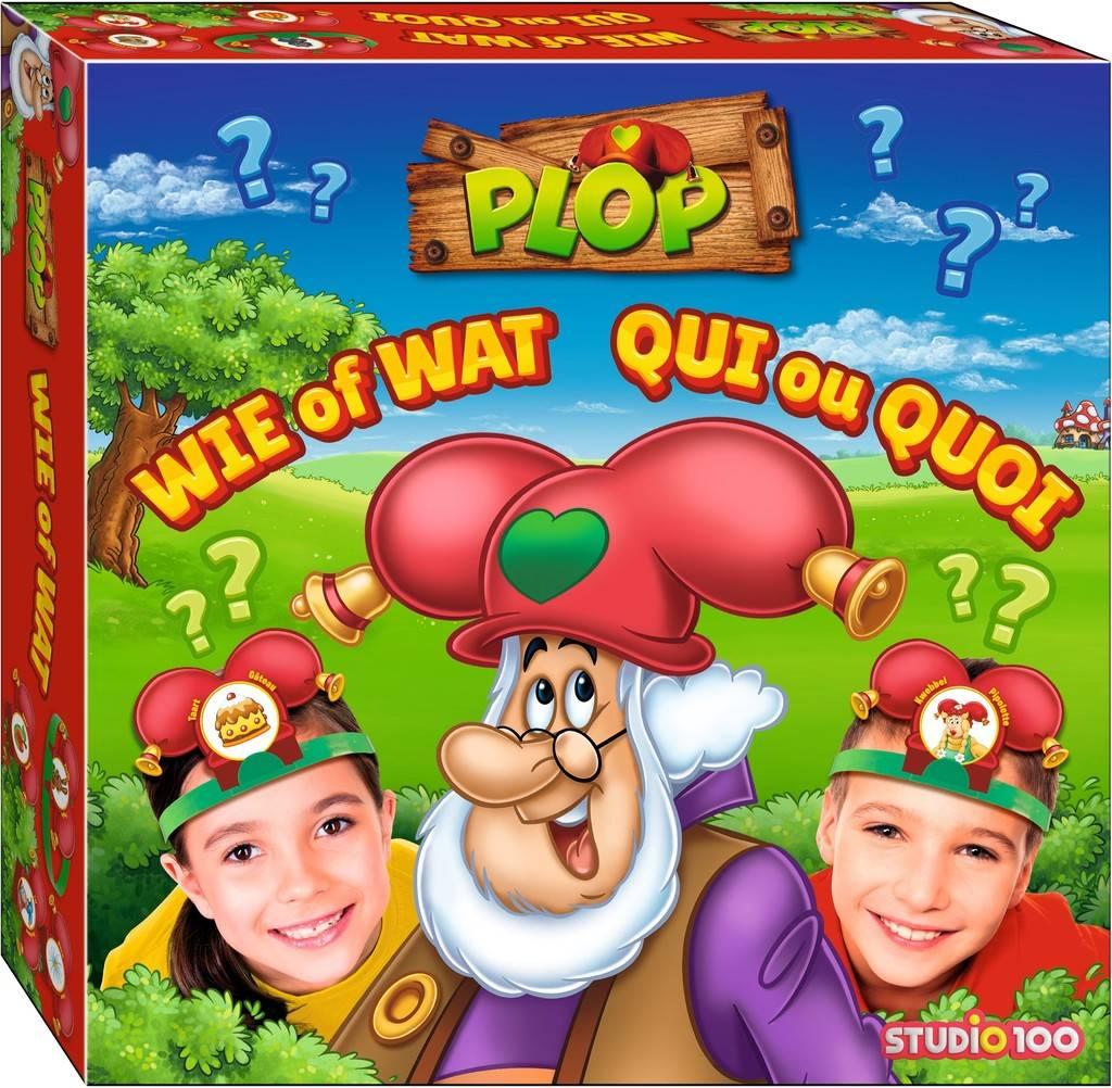 Jeu Plop - Qui ou Quoi