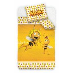 Housse de couette Maya l'abeille - 140x200 cm