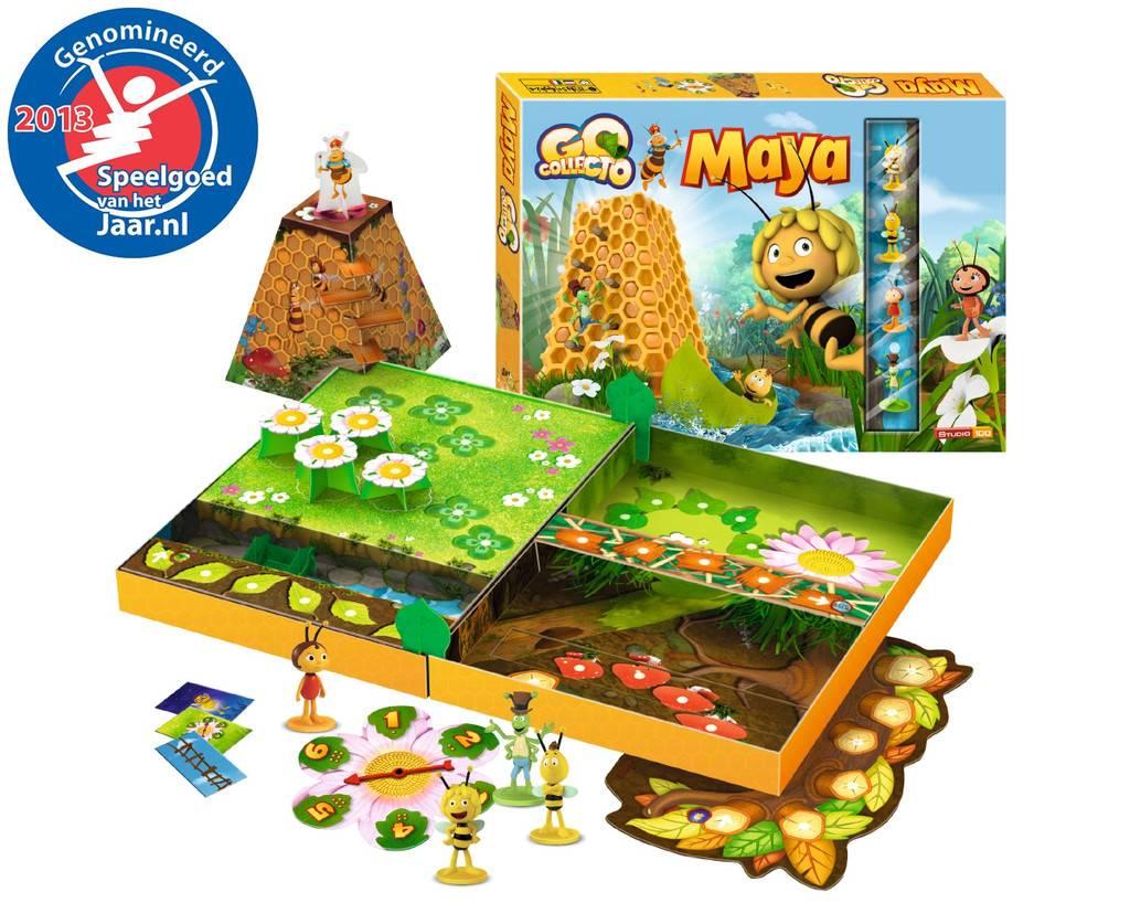 STUDIO100 Go Collecto Maya Board Game