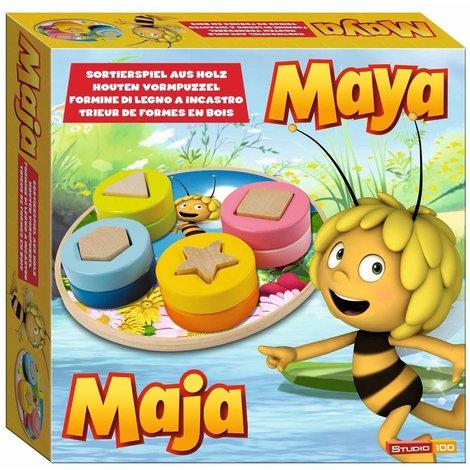 Trieuse de formes en bois Maya l'abeille