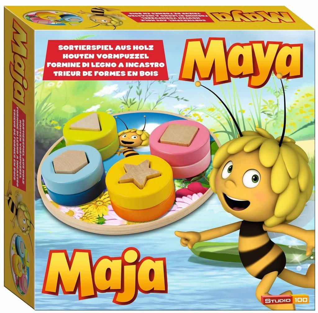 Maya Trieuse de formes en bois
