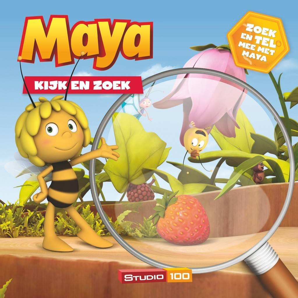 Livre Maya Observe et cherche