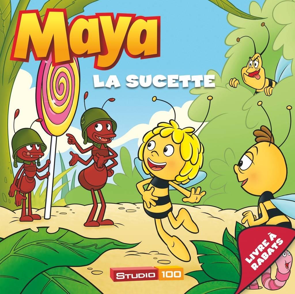 Livre Maya l'abeille - La sucette