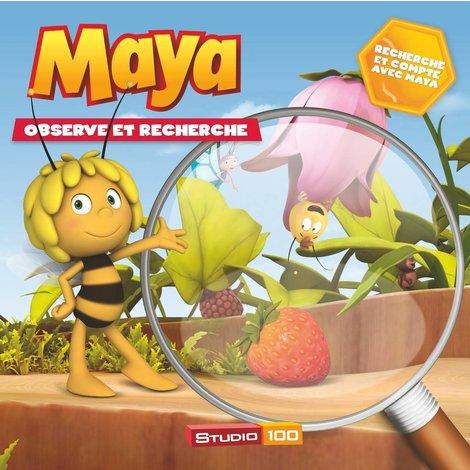 Livre Maya l'abeille - Observe et cherche