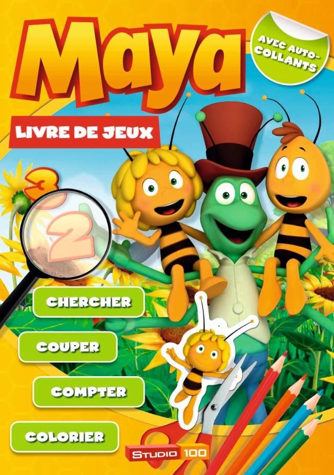 Maya de Bij DOEB- livre de jeu