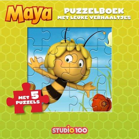 Maya de Bij Puzzelboek met verhaaltjes