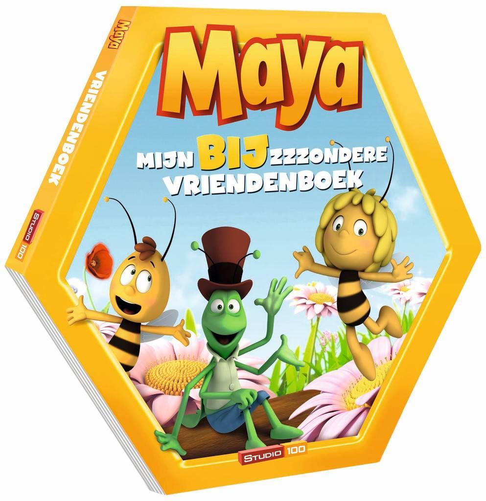 Maya Bijzzzzondere Vriendenboek Gert Verhulst
