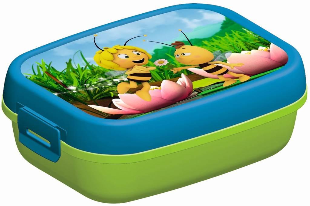 Maya de Bij Lunchbox groen-blauw