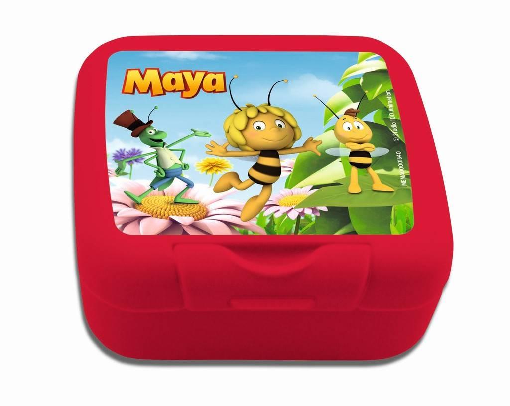 Maya de Bij Koekendoosje rood