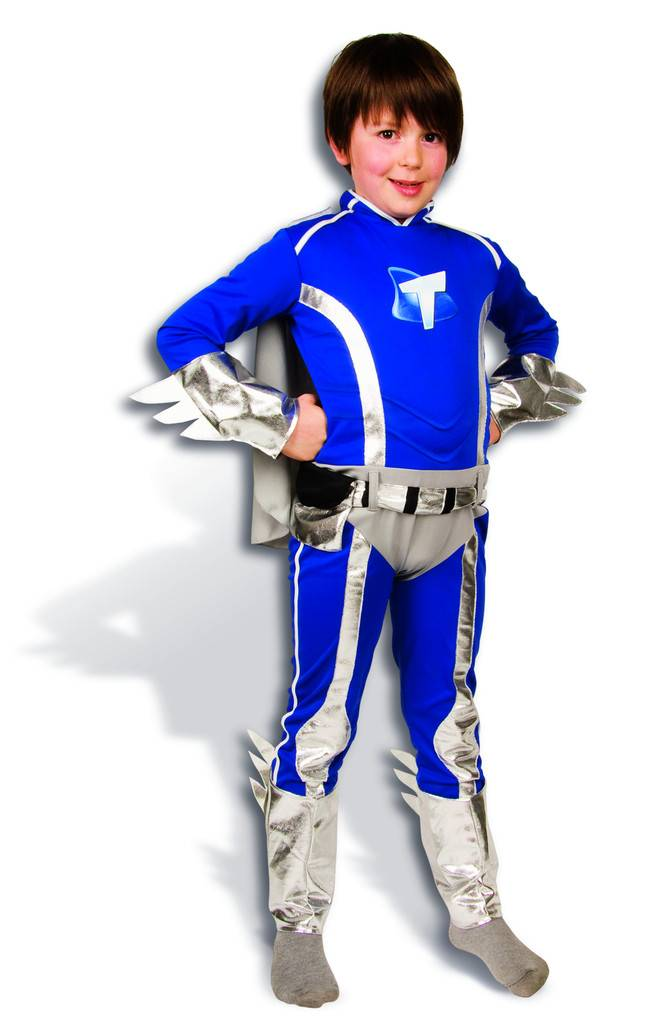 Déguisement Mega Mindy - Mega Tommy - Taille : 3-5 ans