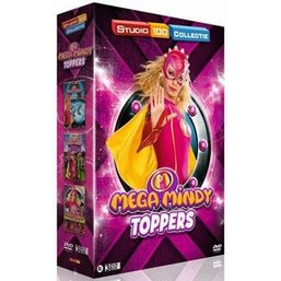 Mega Mindy 3-DVD box - Mega Mindy toppers