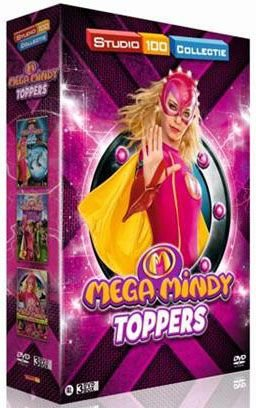 Dvd box Mega Mindy: Mega Mindy toppers