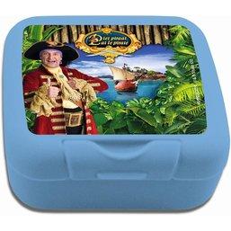 Koekendoosje Piet Piraat blauw