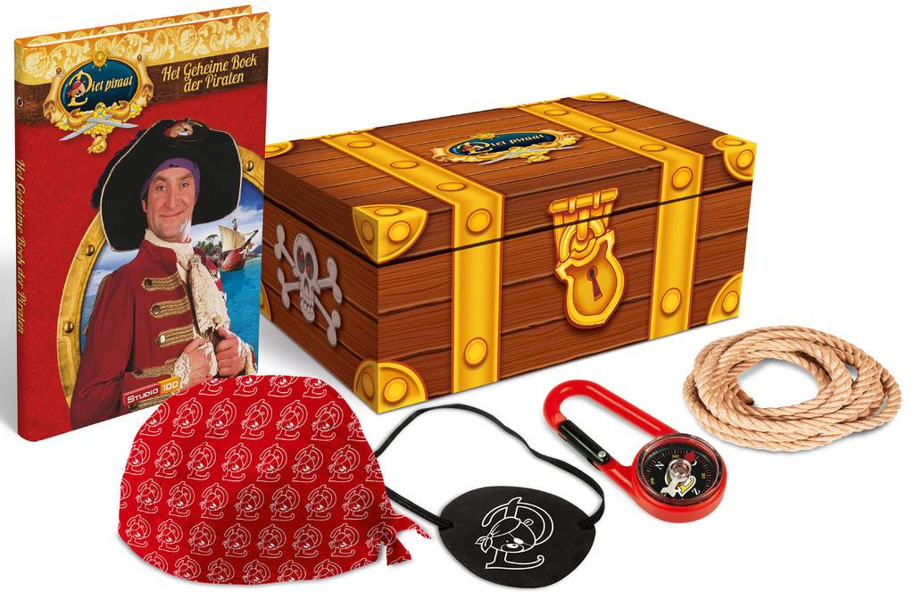 Coffre au trésor de Pat le Pirate