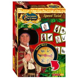 STUDIO 100 Pete Pirate Travel Game Twist