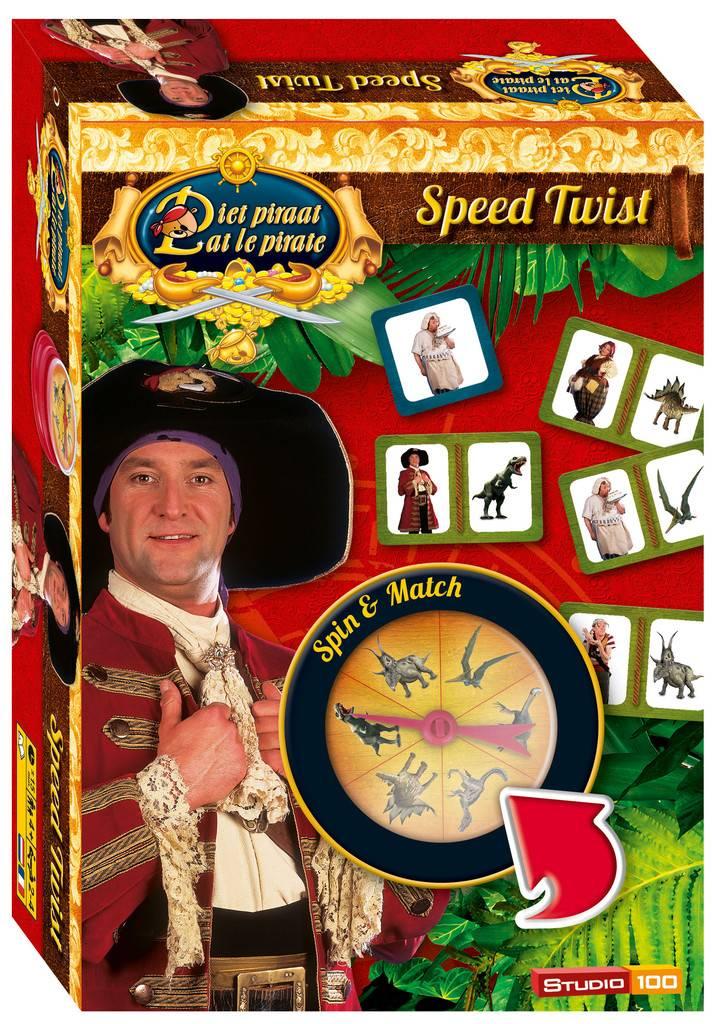 Jeu de voyage Pat le Pirate - Speed Twist