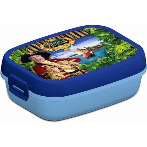 Piet Piraat Lunchbox blauw
