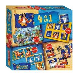 Pat le pirate boîte de jeux 4 en 1
