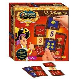 Piet Piraat 1-2-3 Domino