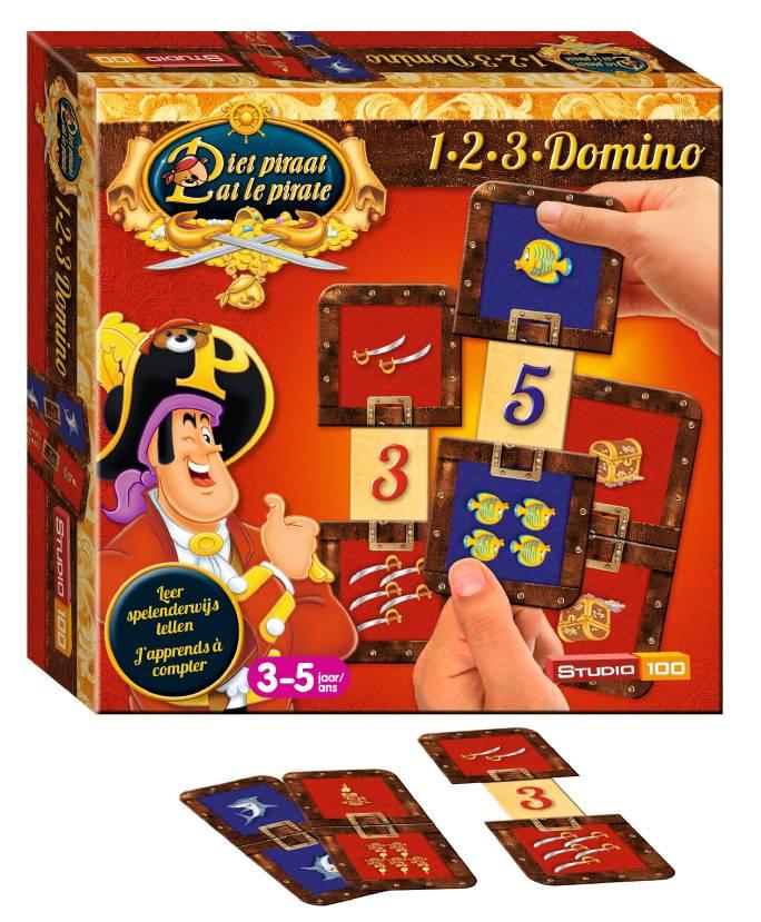 Pat le pirate 1-2-3 domino