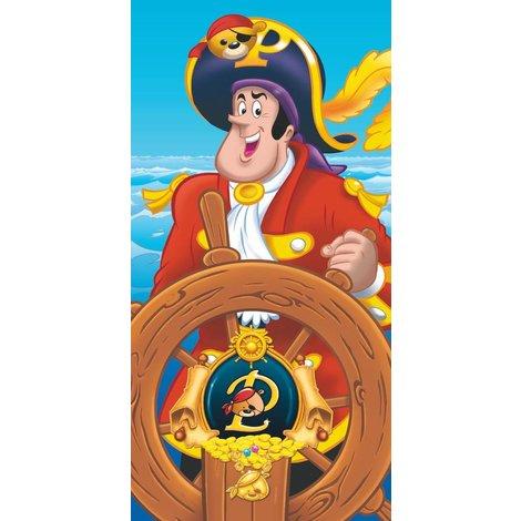 Piet Piraat Badlaken 75x110 cm