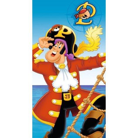 Badlaken Piet Piraat: 75x110 cm