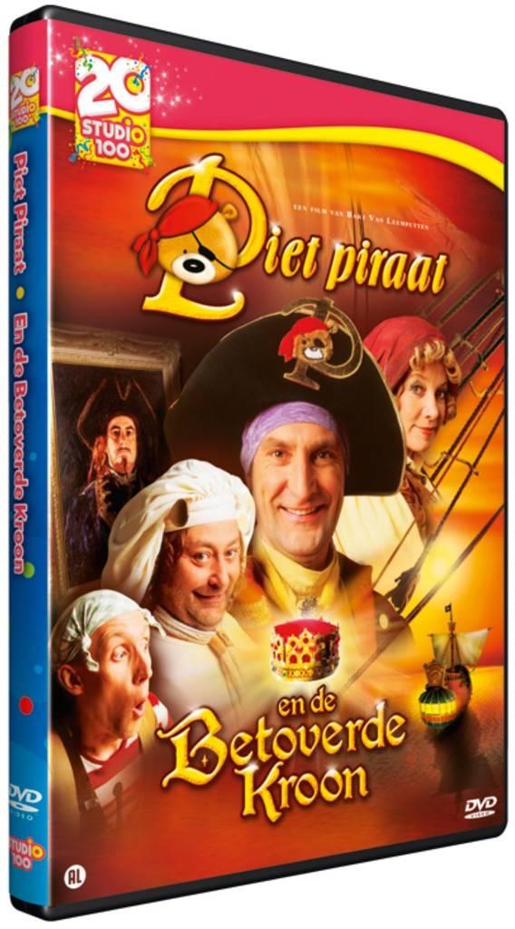 Piet Piraat DVD - Betoverende kroon