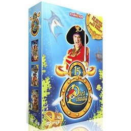 Piet Piraat 3-DVD box - Piet Piraat toppers