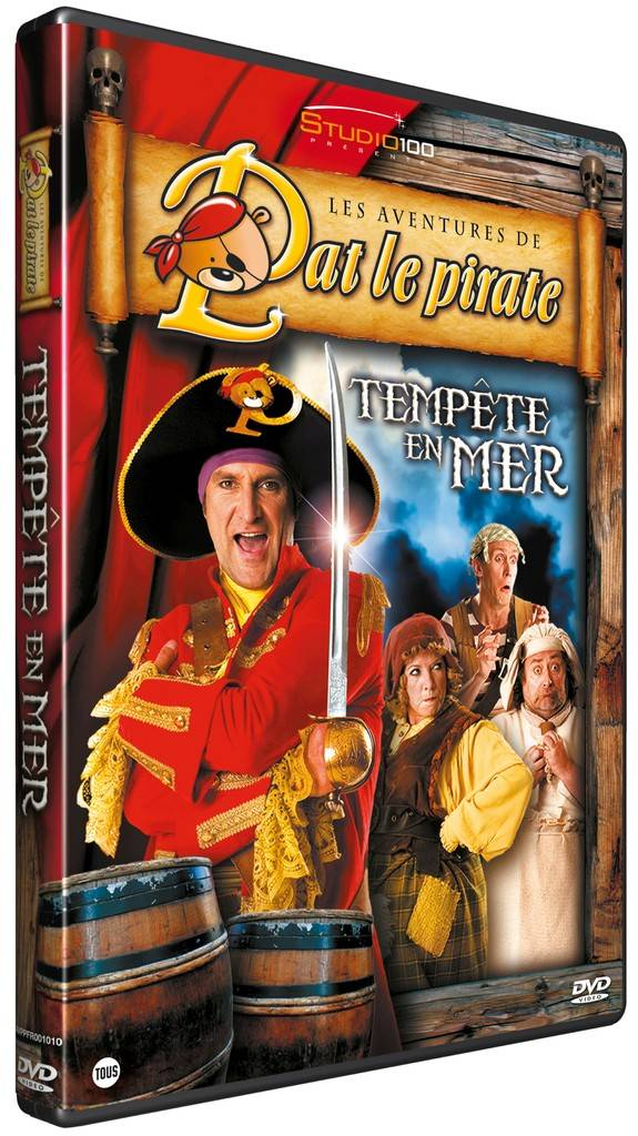 Pat le Pirate DVD - Tempête en mer