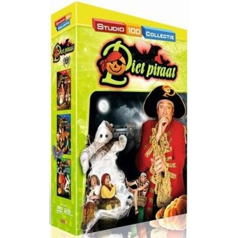 Piet Piraat 3-DVD - Halloween box