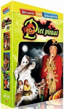 Piet Piraat 3-DVD - Halloween box