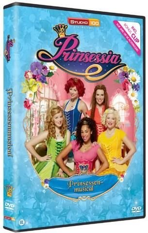 Prinsessia DVD- prinsessen musical