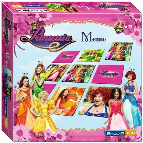 Studio 100 Prinsessia Memo Game