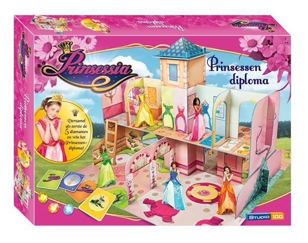 Prinsessia Spel - Prinsessendiploma