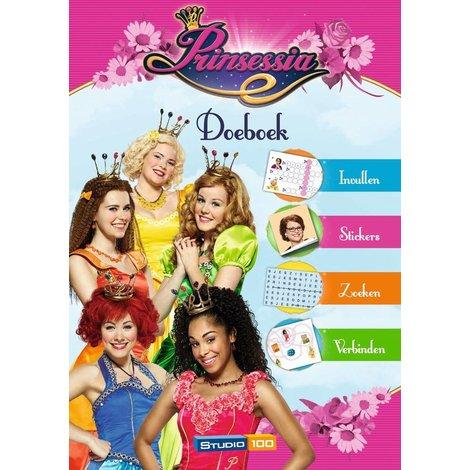 Prinsessia Doeboek met stickers