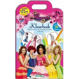 Prinsessia Kleurboek met stickers
