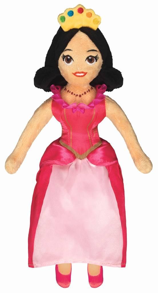 Prinsessia Knuffelpop - Roos 30 cm