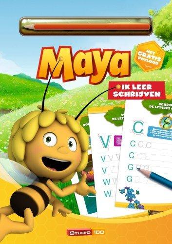 Maya de Bij Boek- Spelenderwijs schrijven