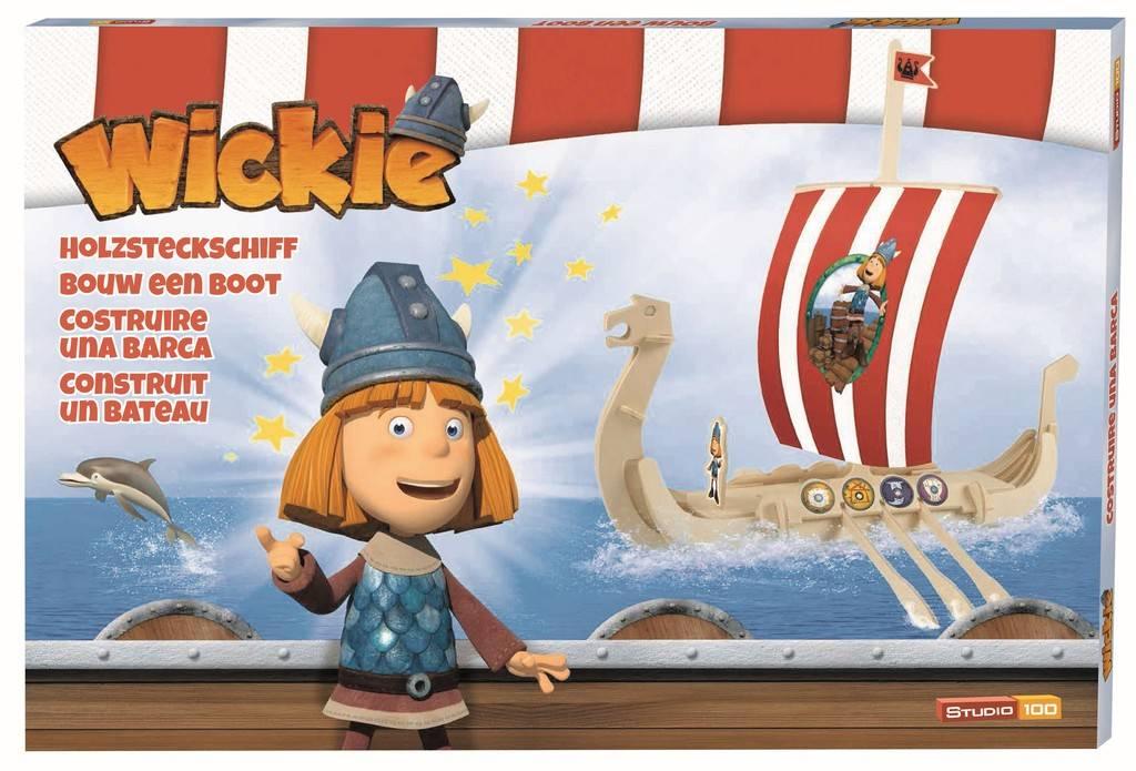 Wickie de Viking Bouw een boot set