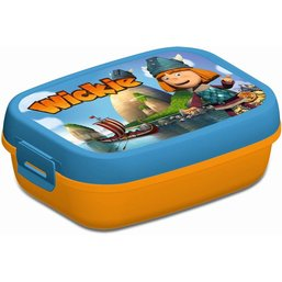 Lunchbox Wickie blauw