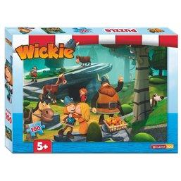 Puzzel Wickie rots 100 stukjes