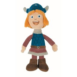 Peluche Vic le Viking - Vic, 20 cm